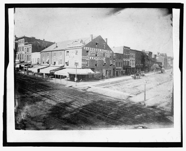 Alexander Gardner's Photographic Gallery, 7th & D Street, NW, Washington, D.C.