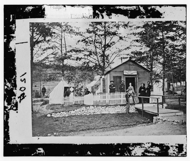 Alexandria, Virginia. Sanitary Commission lodge. Convalescent