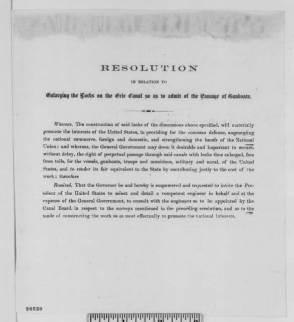 Ambrose W. Clark to Abraham Lincoln, Friday, July 10, 1863  (Recommendation for Charles B. Stuart)
