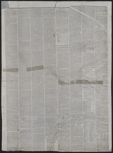 American and Commercial Advertiser, [newspaper]. November 20, 1863.