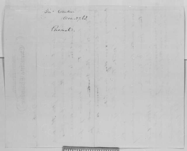 Andrew G. Curtin to Abraham Lincoln, Tuesday, October 27, 1863  (Pennsylvania appointments)