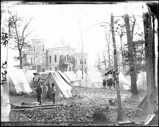 "[Auburn, Va., vicinity.  ""Castle Murray"" (five miles southeast of Warrenton), headquarters of Gen. Alfred Pleasonton]"