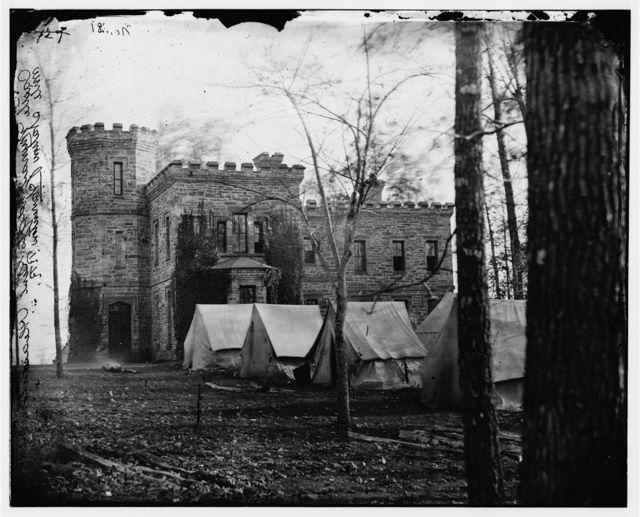 "Auburn, Virginia. ""Castle Murray"" (five miles southeast of Warrenton), headquarters of Gen. Alfred Pleasonton"