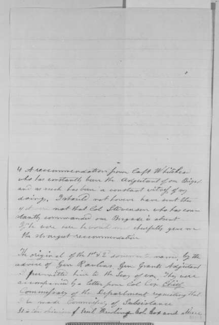 B. G. Roots to David L. Phillips, Sunday, October 18, 1863  (Seeks office)