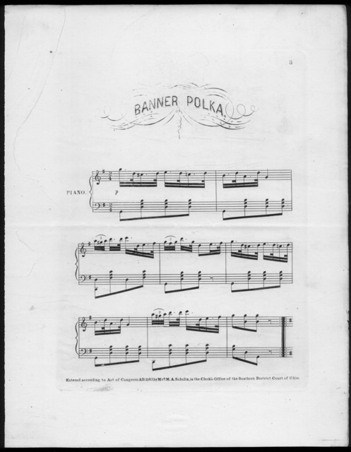 Banner polka