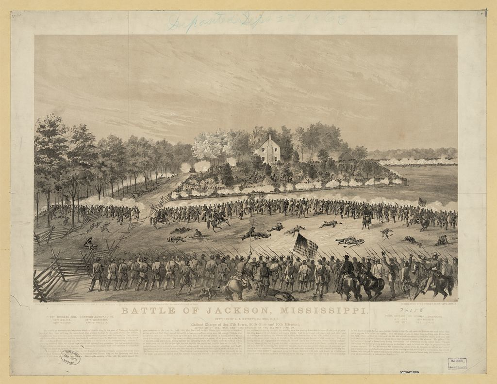 Battle of Jackson, Mississippi--Gallant charge of the 17th