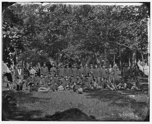 Bealeton, Virginia. Company B, 93d New York Infantry