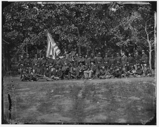 Bealeton, Virginia. Company F, 93d New York Infantry