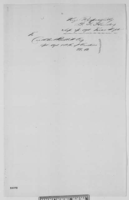 Benjamin F. Flanders to Cuthbert Bullitt, Wednesday, June 17, 1863  (Suspension of W.C. Gray at New Orleans customs house)