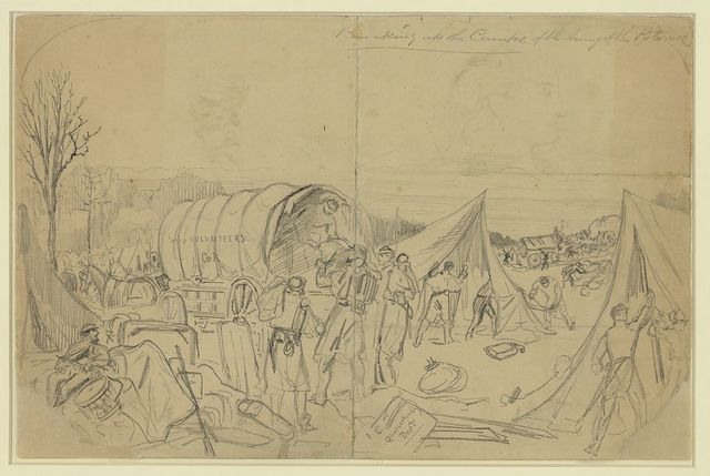 Breaking up the Camps, of the Army of the Potomac