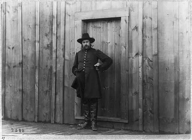 Captain Theron E. Hall, A.Q.M., Acquia Creek, Va., February 1863