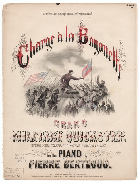 Charge a la bayonette, grand military quickstep