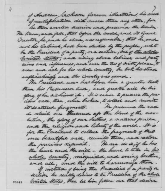 Charles Abert to William H. Seward, Saturday, August 01, 1863  (Foreign Affairs)
