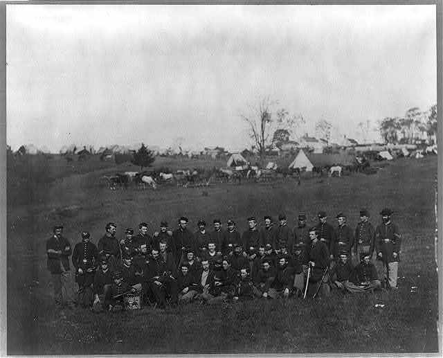 Co. G, 93rd N.Y. Infantry, Bealton [i.e., Bealeton], Va.