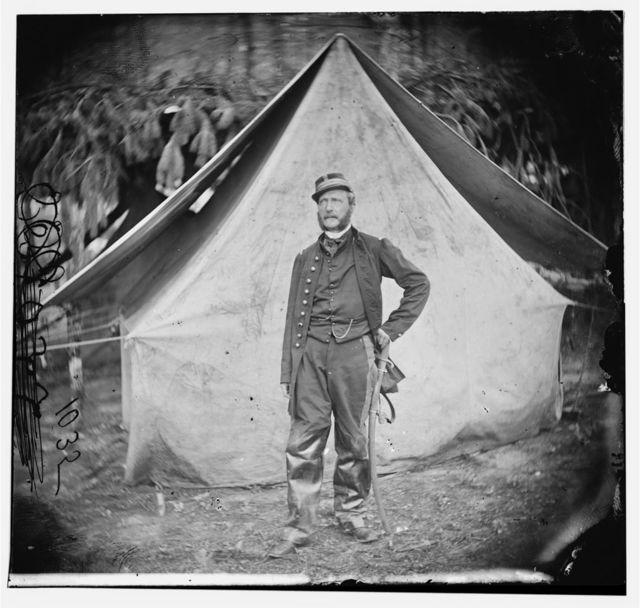 "Col. Ernest M.P. Von Vegesack, 20th New York Infantry ""United Turner Regiment""  (Captain in Swedish army)"