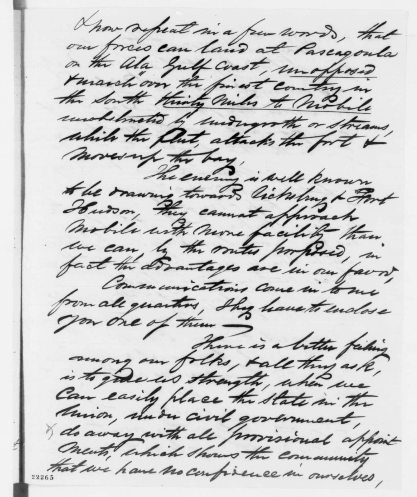 Cuthbert Bullitt to Abraham Lincoln, Saturday, March 07, 1863  (Appreciation for his appointment)