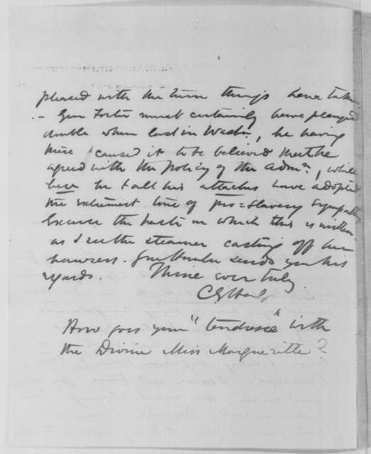David Hunter to Henry W. Halleck, Thursday, February 19, 1863  (Orders to General Foster; with Note from Charles G. Halpine to John Hay)