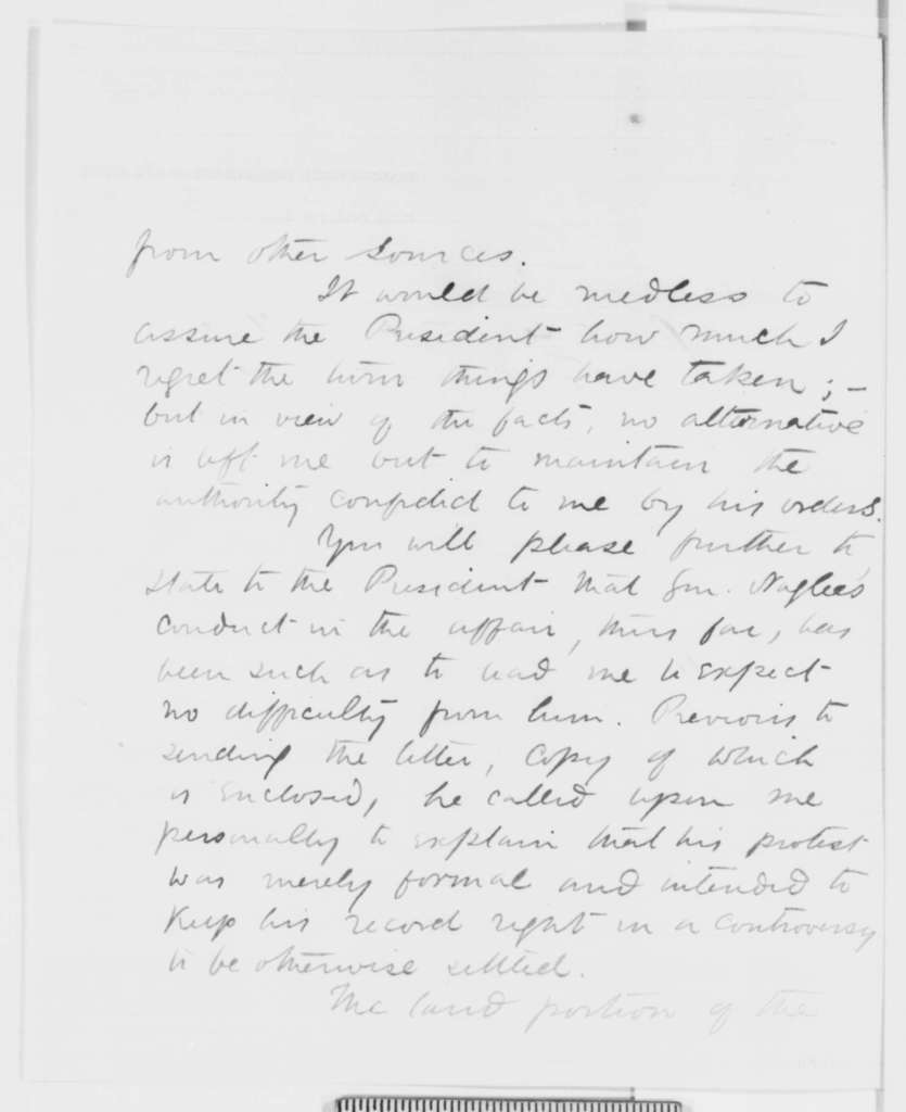 David Hunter to John Hay, Wednesday, February 11, 1863  (Expedition against Charleston)