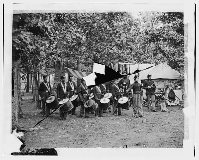 Drum Corps, 93rd New York Infantry, Bealton, Va.