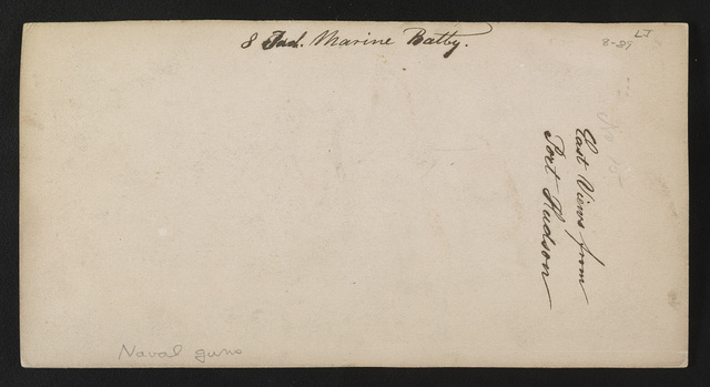East views from Port Hudson, 8th Ind. (i.e. Indiana) Marine Battery