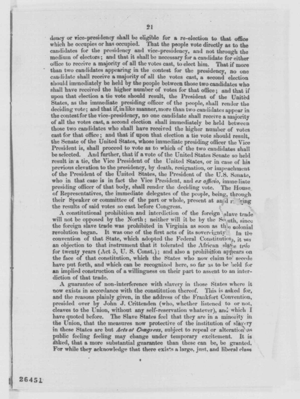 Edward B. Eaton to Abraham Lincoln, Monday, September 21, 1863  (Sends pamphlet)