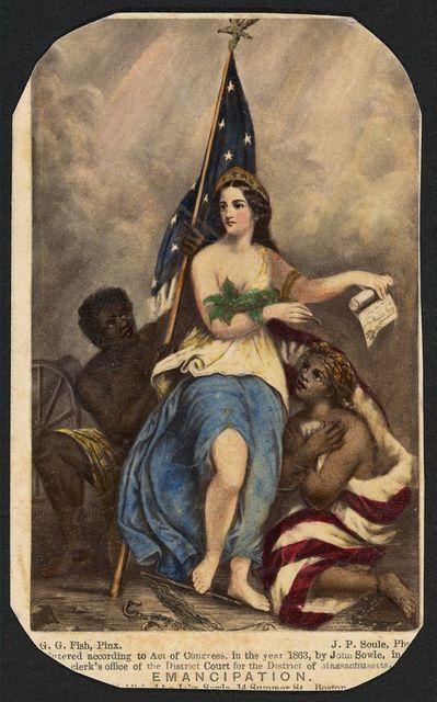 Emancipation / G.G. Fish, Pinx. ; J.P. Soule, ph[..]