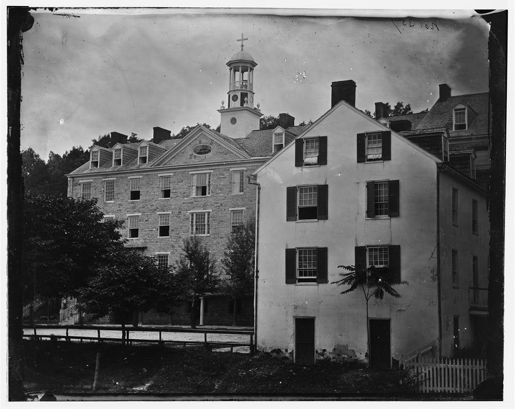 Emmitsburg, Maryland. Mount Saint Mary's college