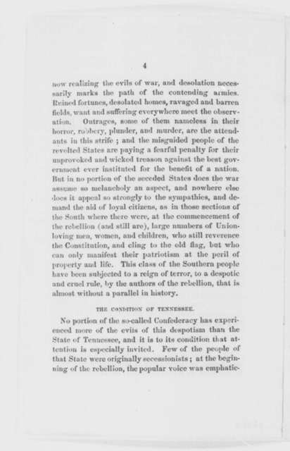 Ernest M. Bement, June 1863  (Pamphlet)