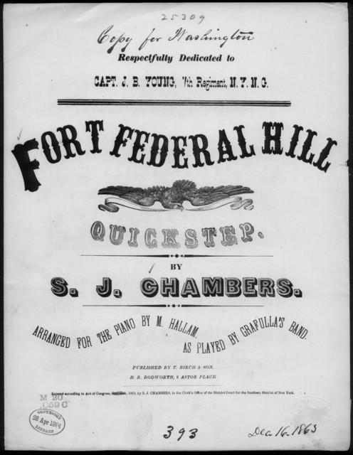 Fort Federal Hill quickstep