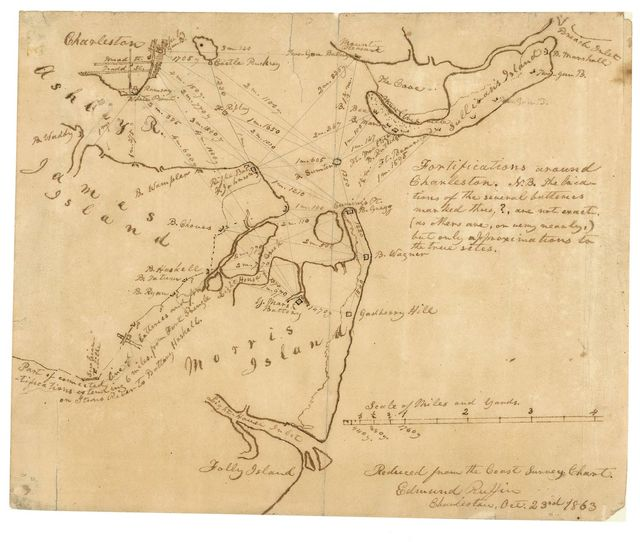 Fortifications around Charleston, H.B. ... /