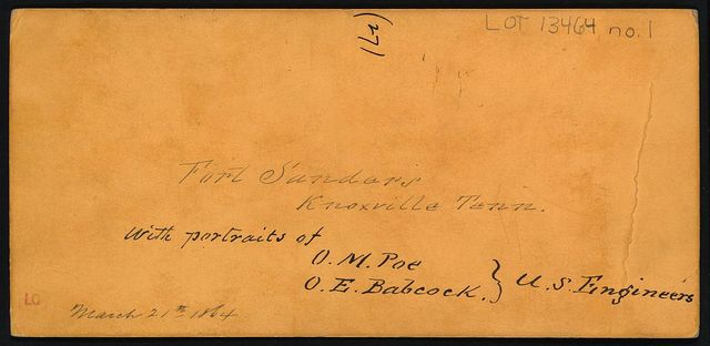 Ft. Sanders, Knoxville, Tenn., showing saliant assaulted by Longstreets forces, Novr. 29th 1863