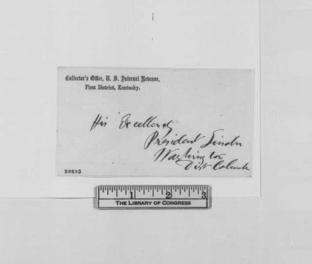 George D. Blakey to Abraham Lincoln, Friday, December 25, 1863  (Seeks pardon for Dr. John B. Peyton)