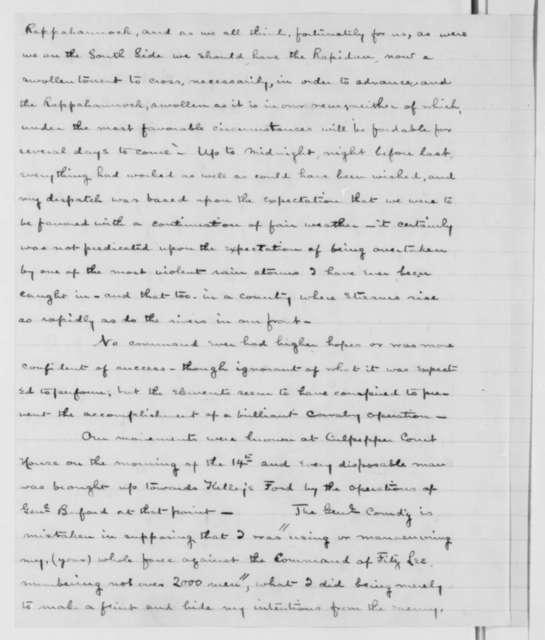 George Stoneman to Seth Williams, Thursday, April 16, 1863  (Military affairs)