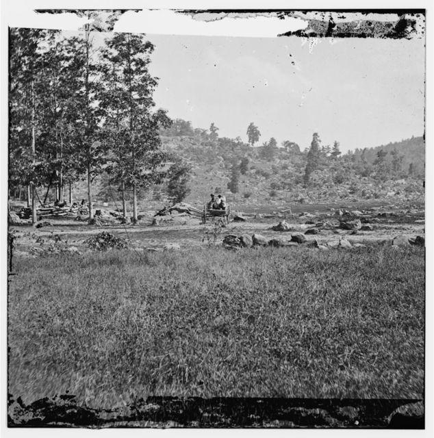 Gettysburg, Pennsylvania. Little Round Top