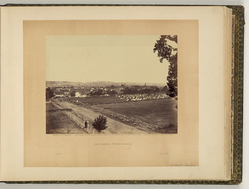 Gettysburg, Pennsylvania / negative by T.H. O'Sullivan ; positive by A. Gardner.