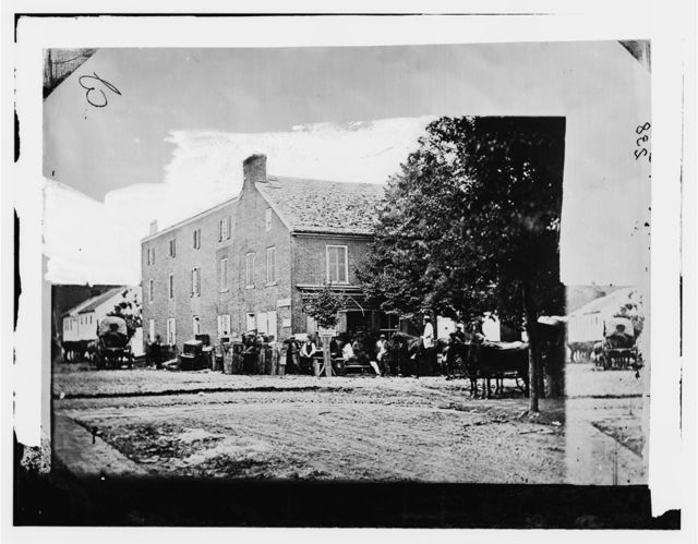 Gettysburg, Pennsylvania. Offices of U.S. Sanitary Commission