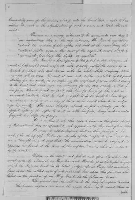 Gideon Welles to Abraham Lincoln, Wednesday, September 30, 1863  (Memorandum on proposed instructions to naval officers concerning the treatment of neutral vessels)
