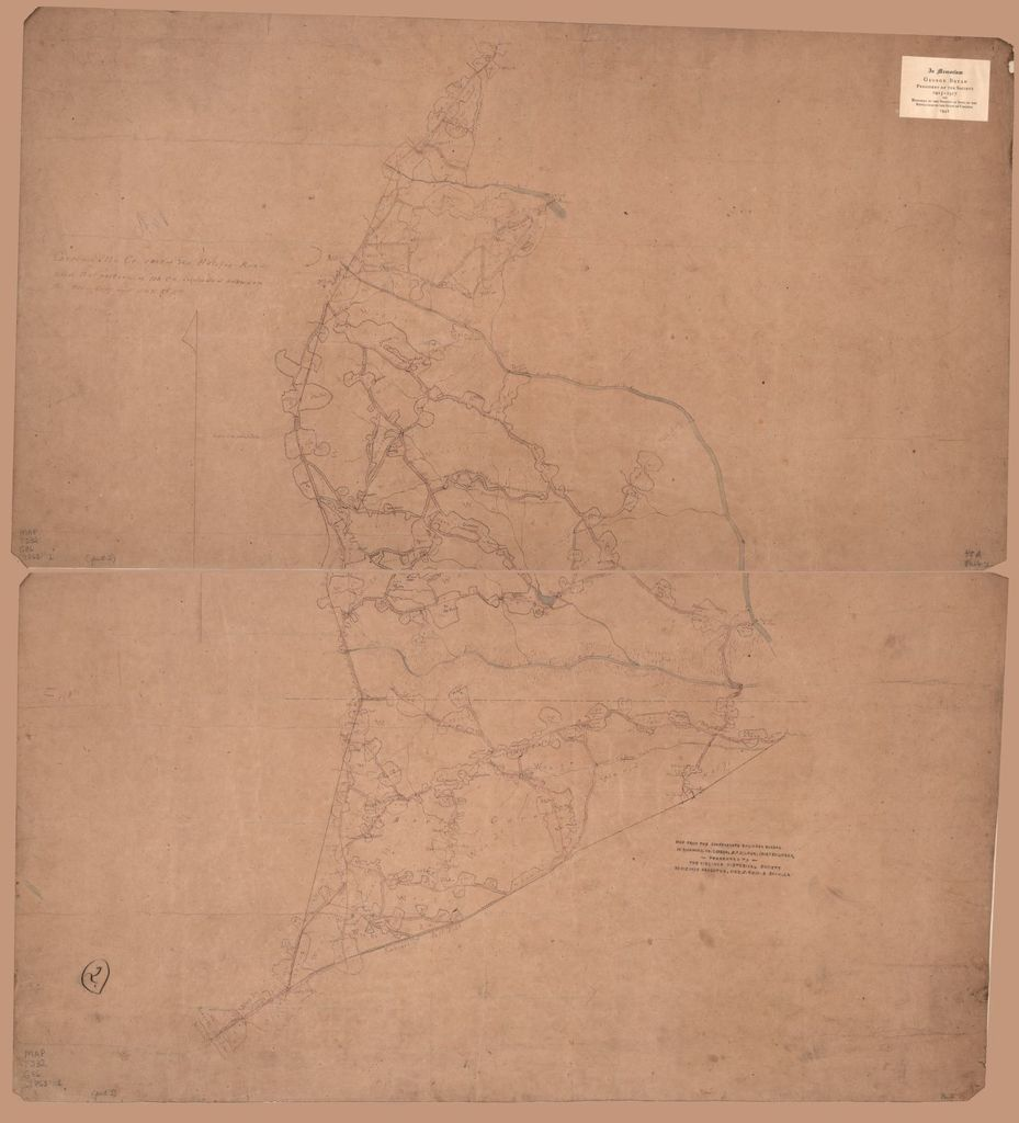 Greensville Co. east of the Halifax road and that portion of No. Ca. included between the Petersburg and S.& R. Rl. Rds.
