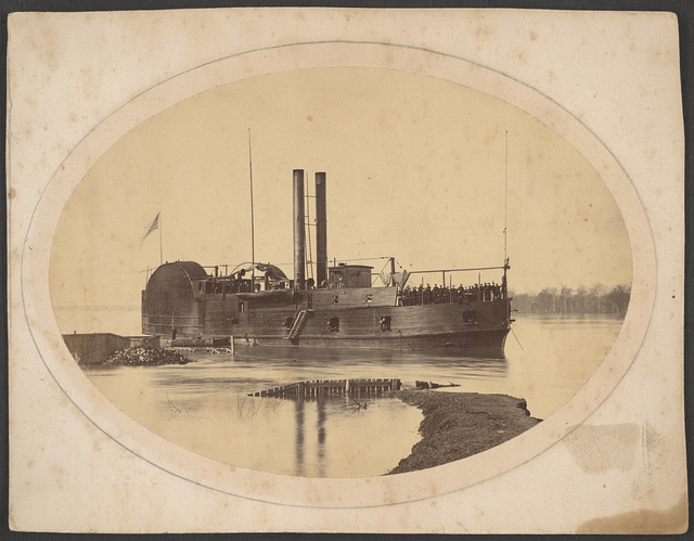 Gunboat Tyler, where W.W. Stuart served during the Civil War