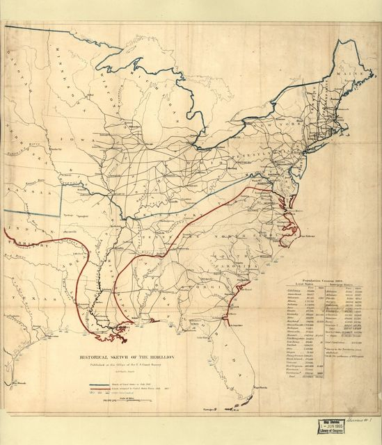 Historical sketch of the rebellion : [United States] /