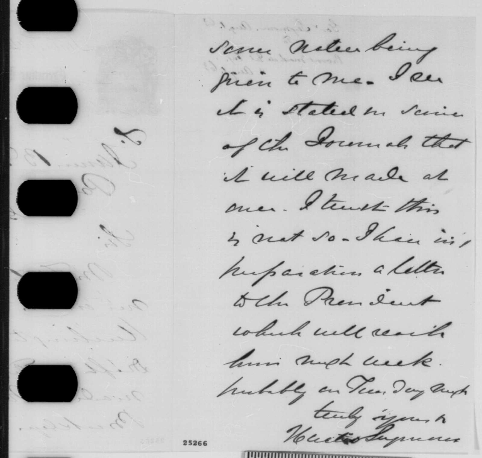 Horatio Seymour to James B. Fry, Saturday, August 01, 1863  (Conscription in New York)