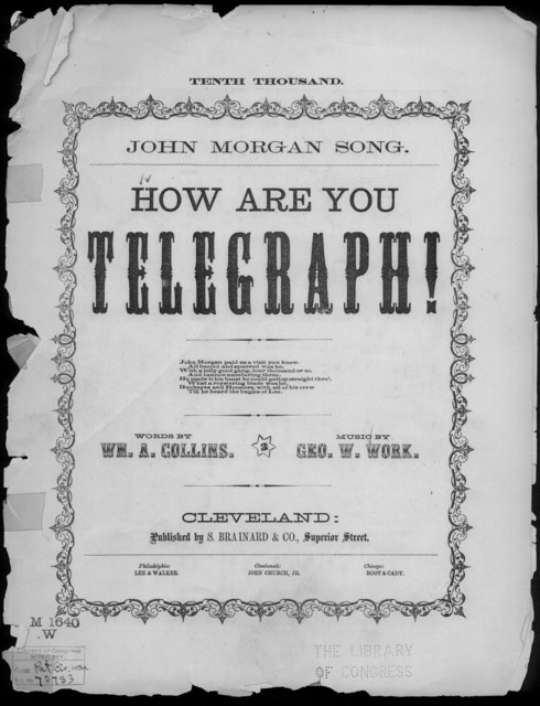 How are you, telegraph!