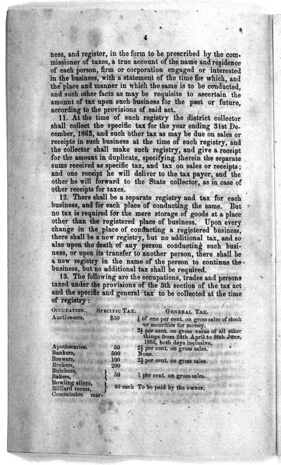 Instructions for collectors of taxes ... Richmond, May 15, 1863.