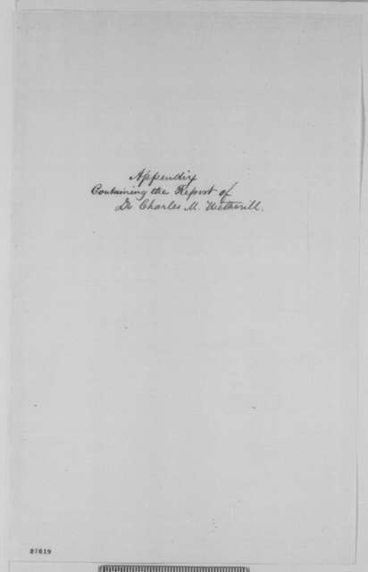 Isaac R. Diller to Abraham Lincoln, Saturday, October 31, 1863  (Report on new and secret gunpowder; includes report by Charles M. Wetherill)