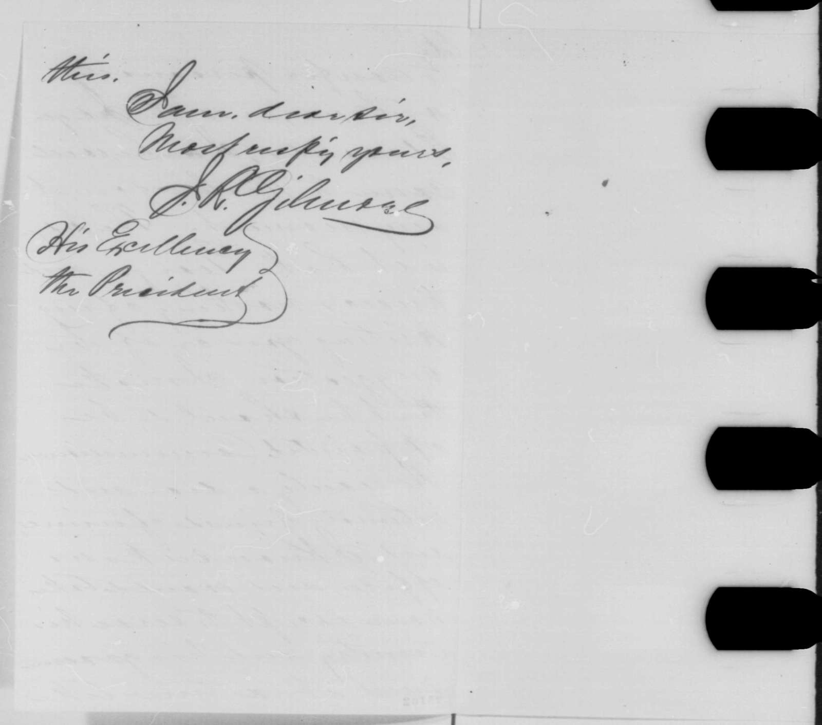 James R. Gilmore to Abraham Lincoln, Friday, July 24, 1863  (Investigation of New York draft riot)