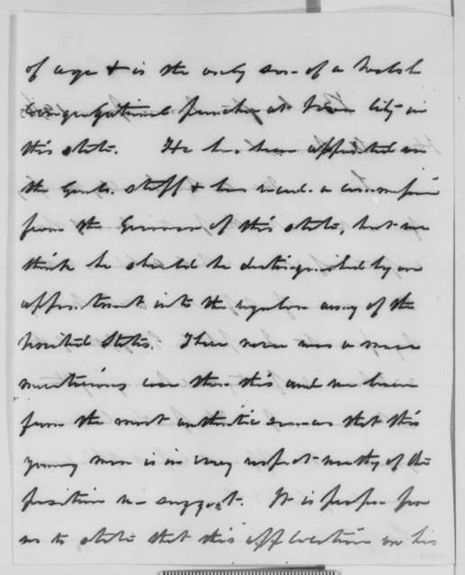 James W. Grimes, James Harlan, and James F. Wilson to Abraham Lincoln, Friday, June 19, 1863  (Write on behalf of soldier who performed heroic feat at Vicksburg)