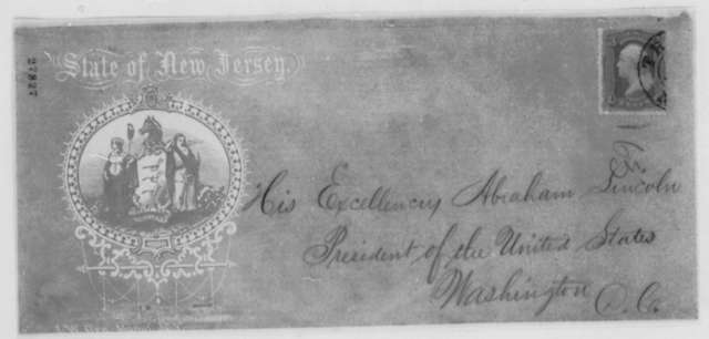 Joel Parker to Abraham Lincoln, Wednesday, November 04, 1863  (Recruitment in New Jersey)