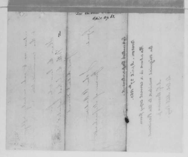 John A. Andrew to Abraham Lincoln, Monday, April 27, 1863  (Requests ironclad to protect Boston harbor)