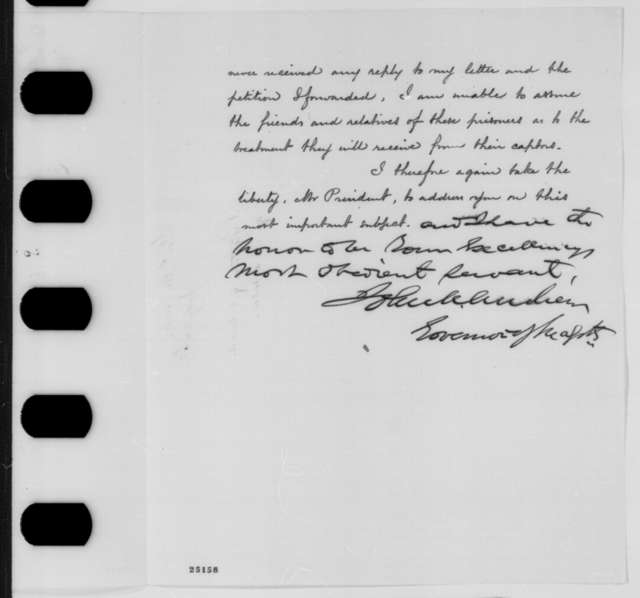 John A. Andrew to Abraham Lincoln, Monday, July 27, 1863  (Officers of black regiments)