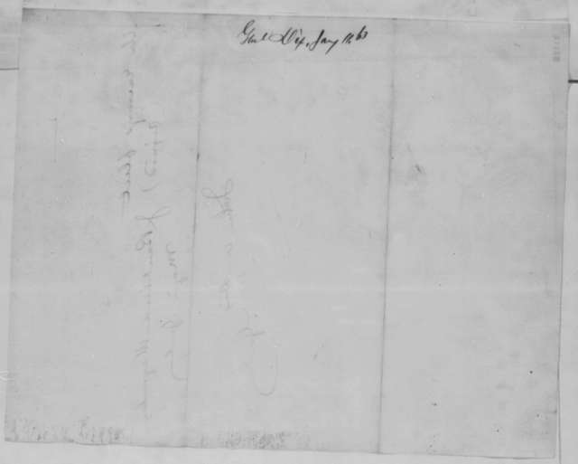 John A. Dix to Abraham Lincoln, Sunday, January 11, 1863  (Telegram sending dispatch from Richmond newspaper concerning battle at Murfreesboro)